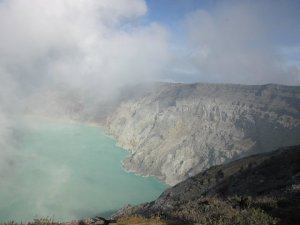 Ijen Crater Lake