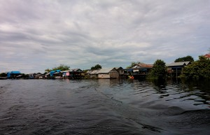 Mekong River Floating Village