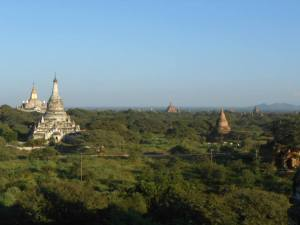Pagodas at Bagan