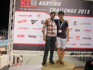 Performing at the Go-Karting Gig