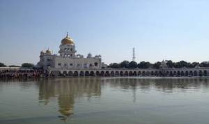 Gurudwara Bangla Sahib, a Sikh house of worship that  offers one a place of respite