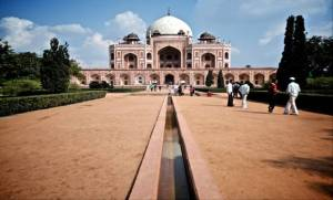 Humayun's Tomb, comparable to the Taj Mahal in beauty