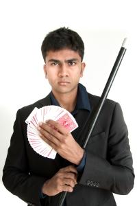 A magician with big big dreams