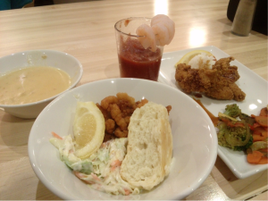 Dining Hall meal