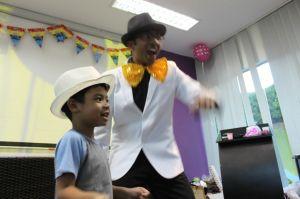 Vinod realising his calling as a magician