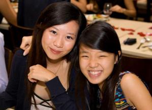 Lynette (on the left)